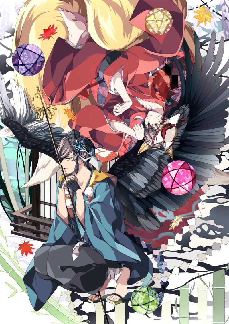fox and crow by Daenarys