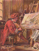 F. Boucher Study by reesmeister