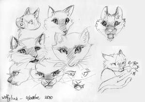 Four Brothers- face-sketches