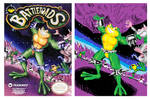 Purposely Bad MSPaint Drawing: Battletoads