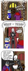 Undertale - Halloween Comic by Megaseven
