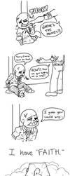 Undertale - Faith Comic by Megaseven