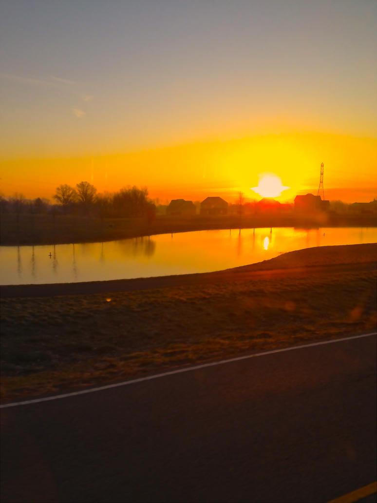 The Orange Morning by SamGrodhaus