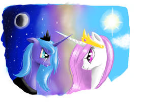 A Tale of Day and Night by StarhawkNaktae