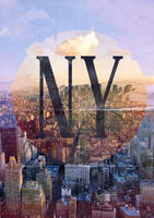 New York Cityscape Poster by SmidiS