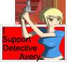 Detective Emi Avery Stamp by RebelOreo
