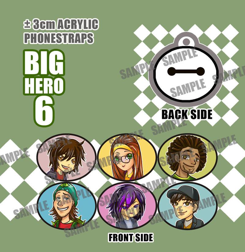 My BIG Hero 6 charm design by CatSummoner