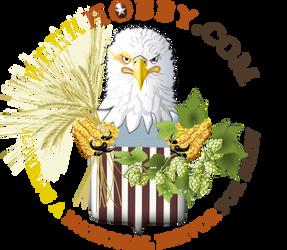 Patriot Eagle pictorial logo for BeerHobby.com