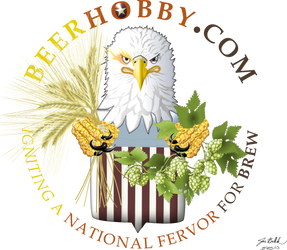 Patriot Eagle pictorial logo for BeerHobby.com by genghisjon