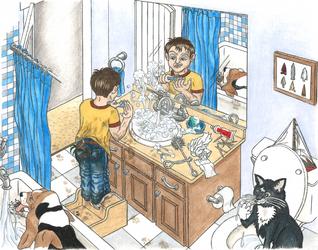 Concept illustration for children's book
