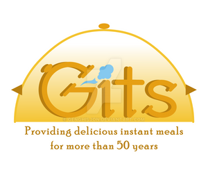 Gits Food (India) concept logo design