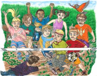 Second concept illustration for children's book