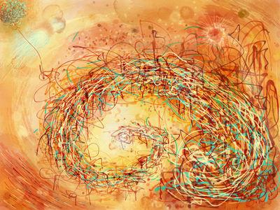 En Spirale Vers Le Ceil