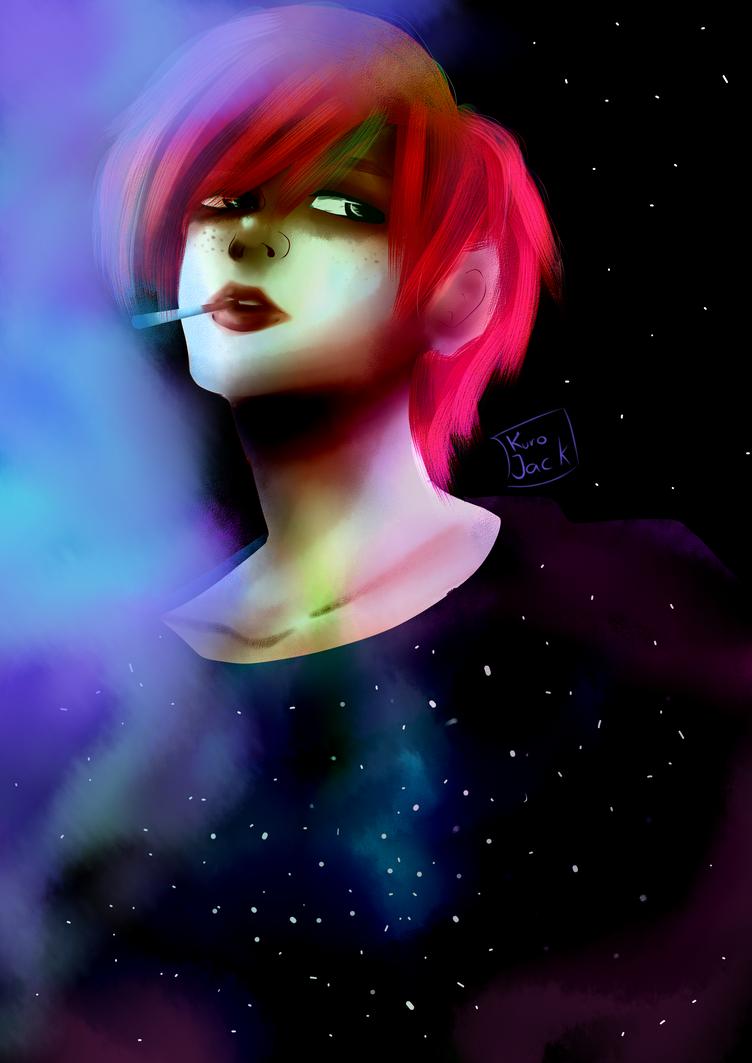 Galaxy by KuroJackNohomo