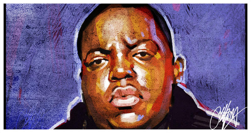 Biggie Painting Biggie Hip Hop Painting by