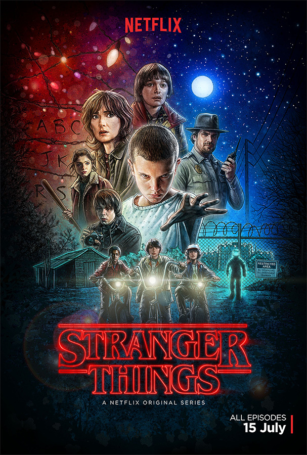 Stranger Things Poster by kyle-lambert