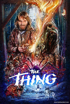 THE THING - LIMITED EDITION POSTER PRINT