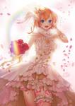 lovelive! bride honoka