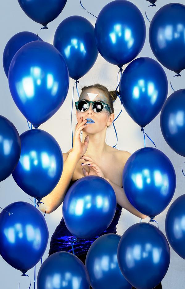 blue Balloon by TheBizarreBirdcage