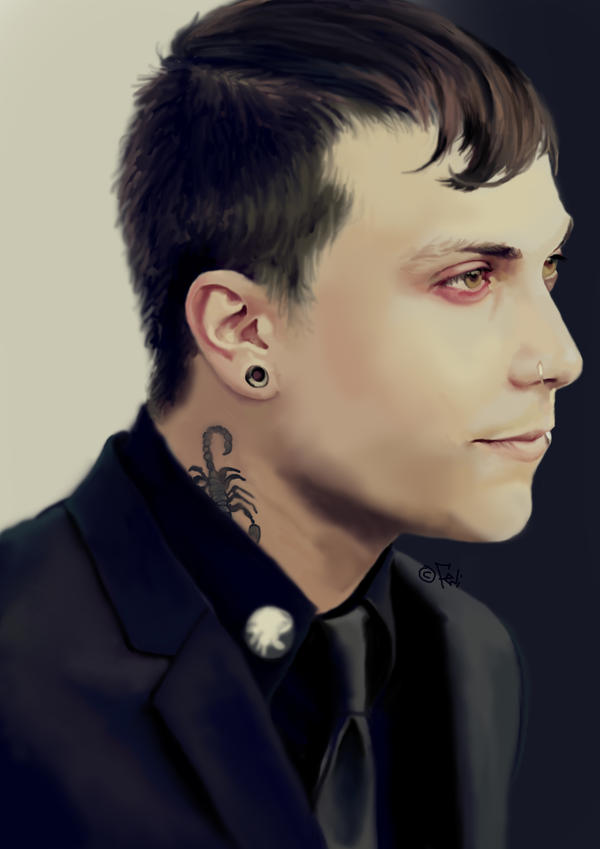 Frank Iero By Faye L On Deviantart