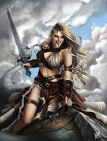 Warrior Lady by Faye-l
