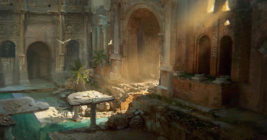 Ruins by Faye-l
