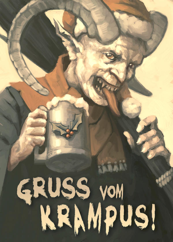 Greetings From Krampus by ChrisReach
