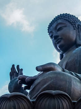 Big Buddha on Lantau Island
