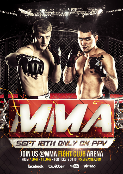 MMA - Flyer by VectorMediaGR