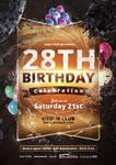 Birthday Party - Flyer