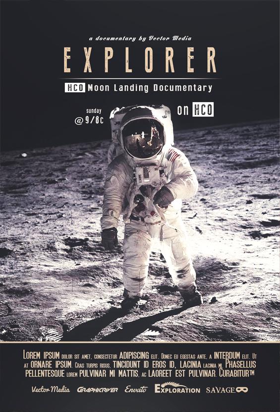 Explorer - Movie Poster by VectorMediaGR