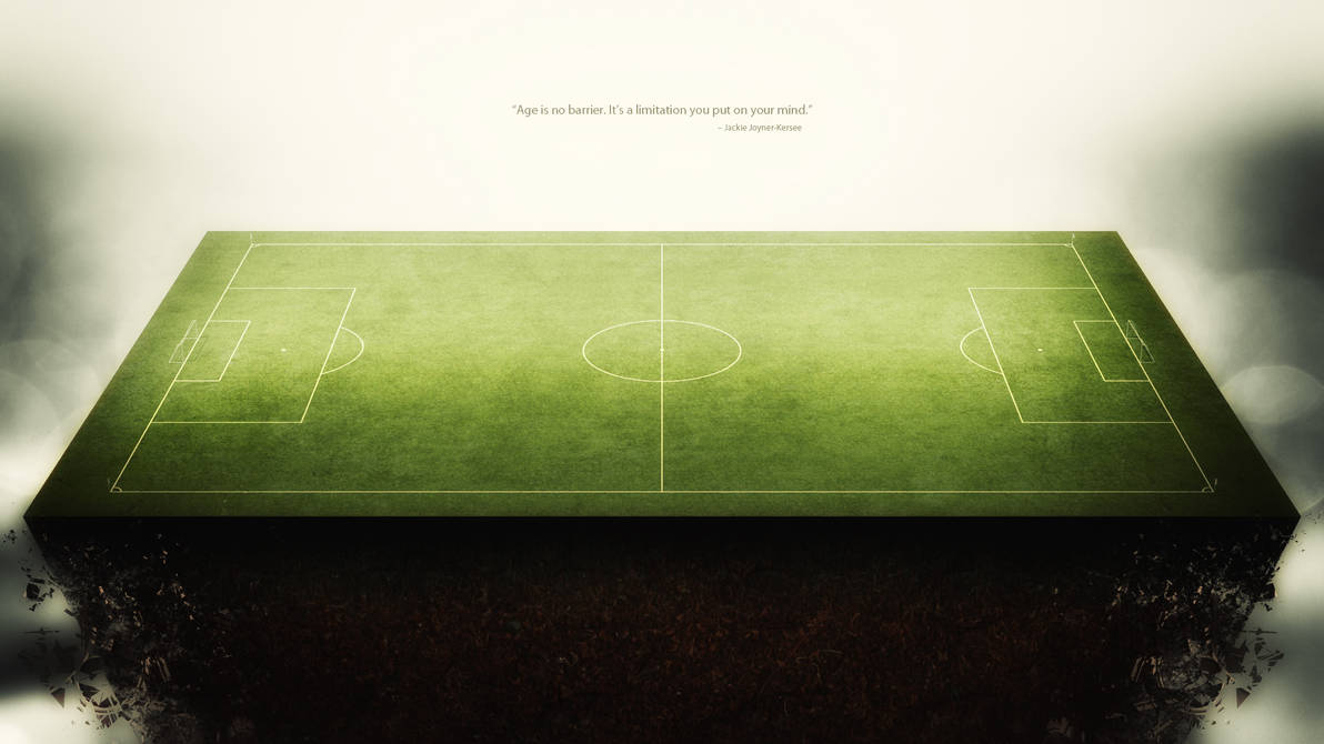 Free Football Field Background Wallpaper By Vectormediagr On