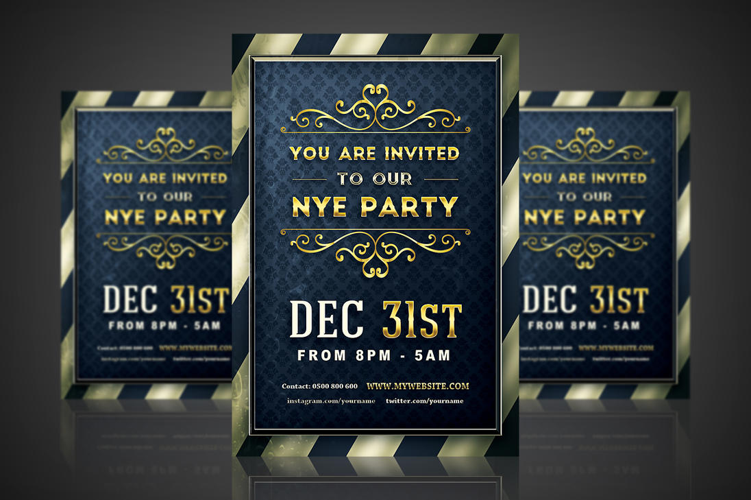 Golden NYE Party
