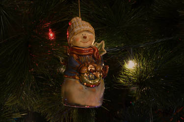 Christmas Tree Snowman by Caleg0