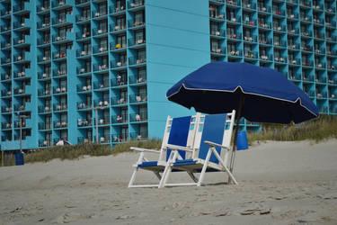 Blue Beach by Caleg0