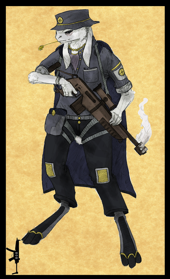 Tarkus, The Smoking Gun by DirtyBertie808
