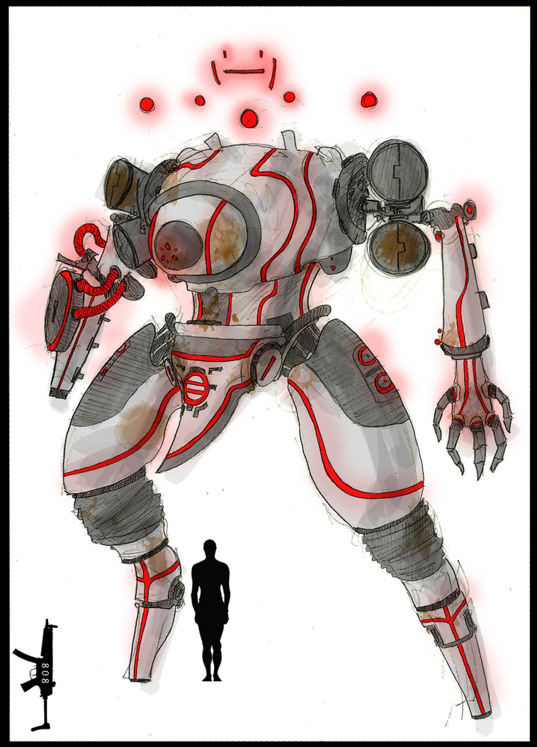 N.E.D. 4 Pulverizer War Machine by DirtyBertie808