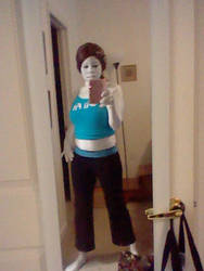 Wii fit trainer progress 3/3 by Y0-Mama