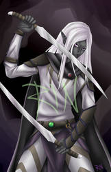Young Drizzt by Rin-Claymore