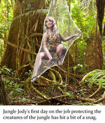 Being a jungle girl is hard (part 1)