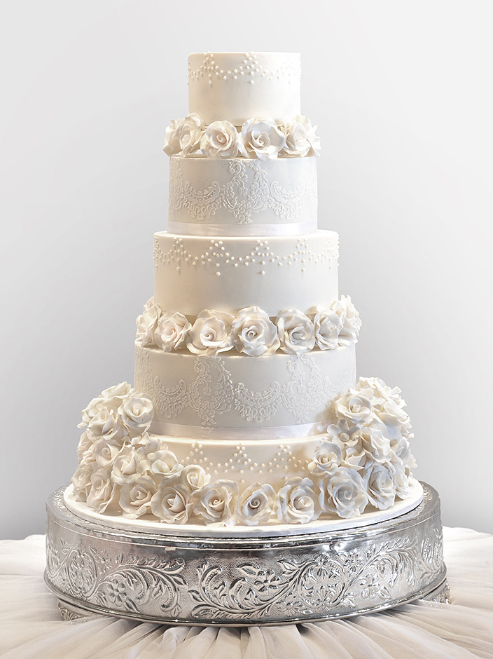 Grand Wedding Cake By Cococakes On DeviantART