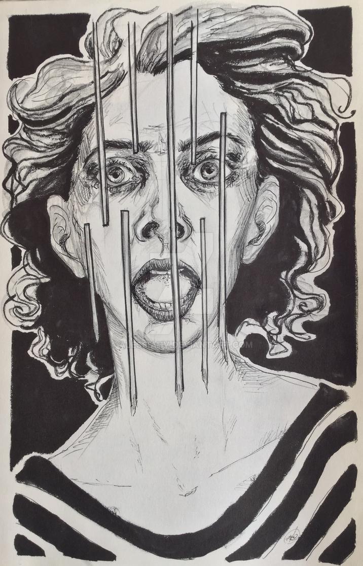 Ink-terror by AlessiaHV