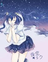 night sky by Aokiki