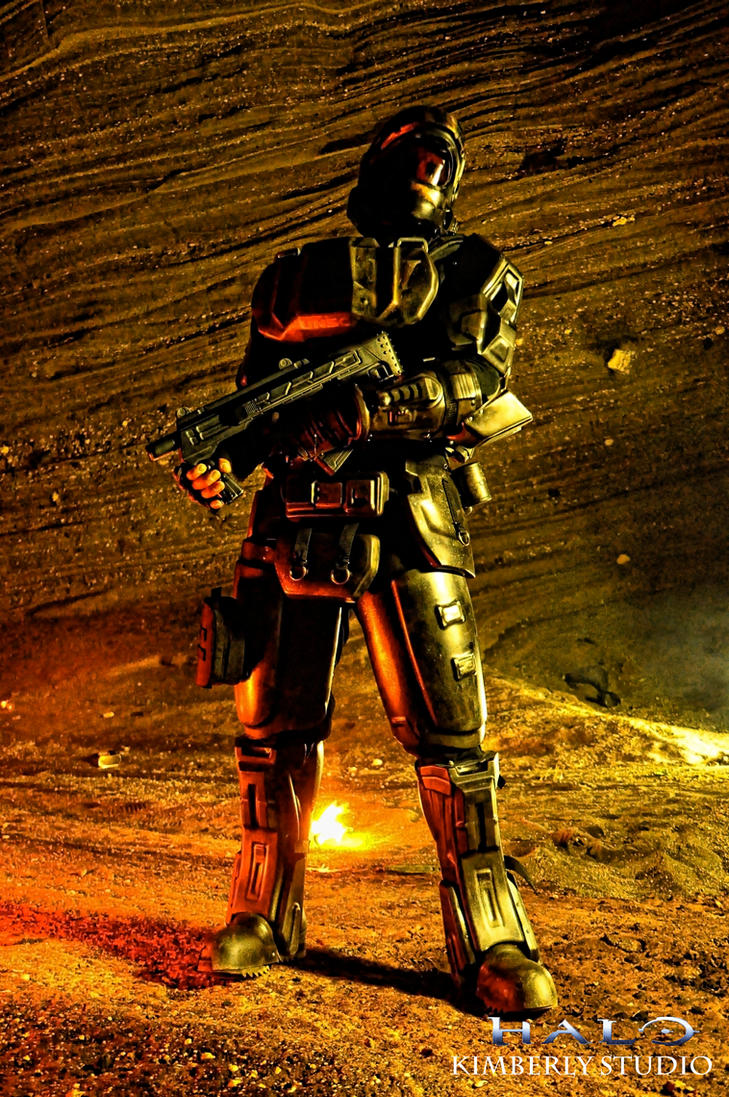 Halo ODST Cosplay by kimberlystudio