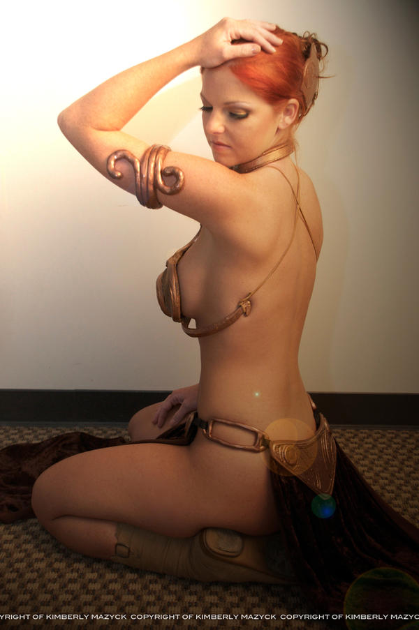 Slave Leia Cosplay by kimberlystudio