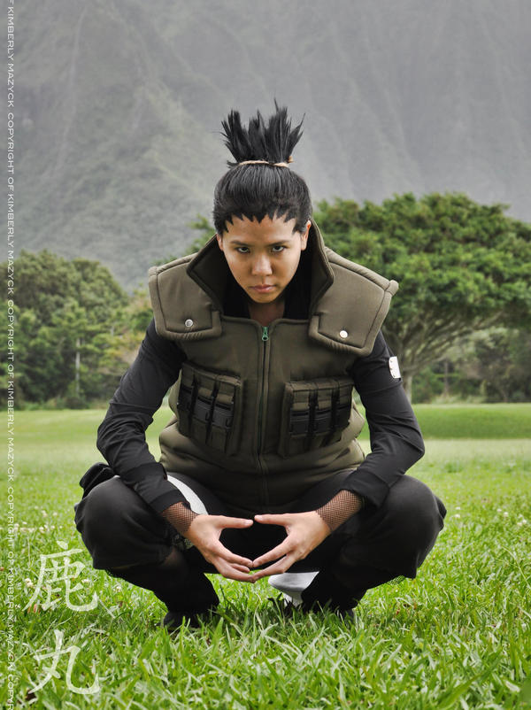WHAT?! I AM SHOOK! THIS IS THE BEST SHIKAMARU COSPLAY I ... |Shikamaru Cosplay Shippuden