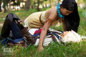Connor Kenway and Pocahontas