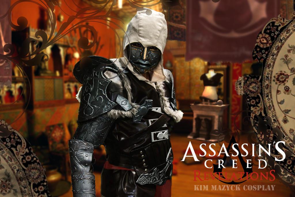Ezio Cosplay by kimberlystudio