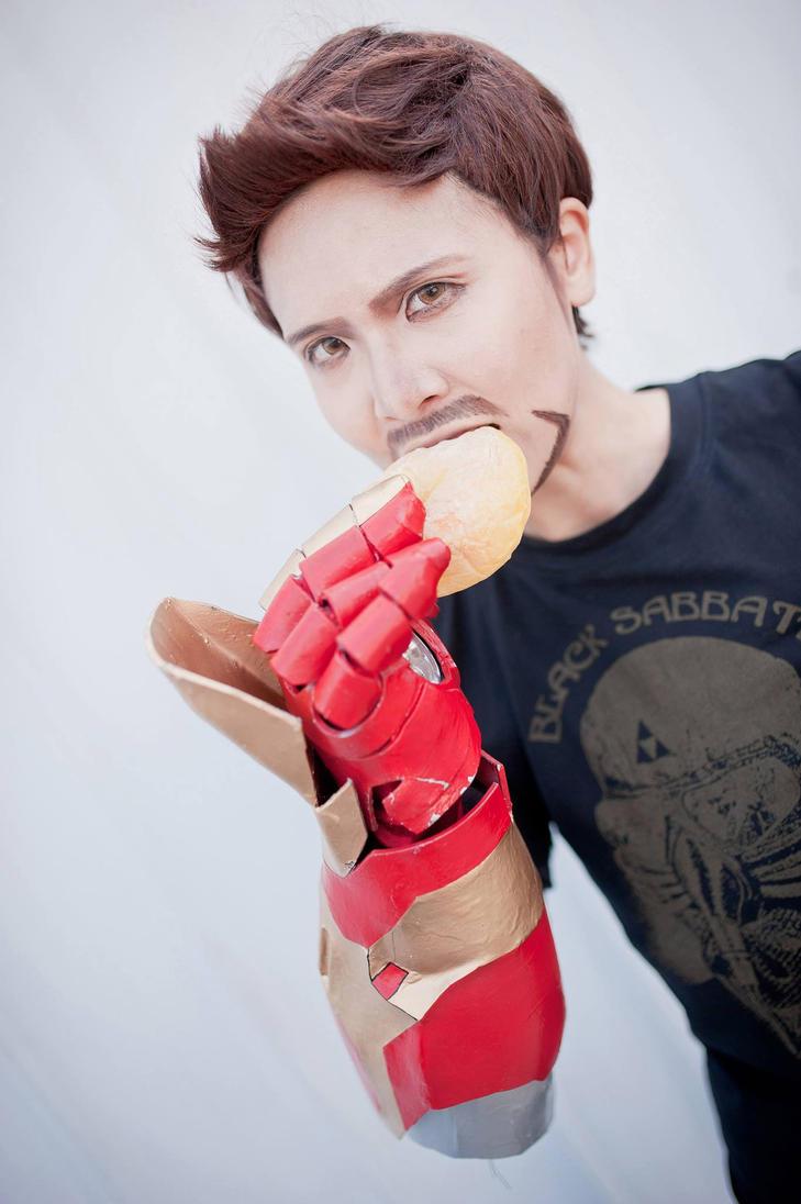 Tony Stark cosplay by KimMazyck