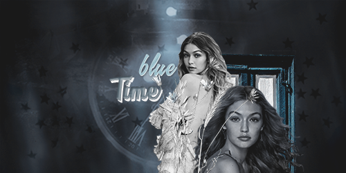 Firma Time Blue by SilvanaLB